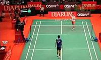 周天成VS索尼 2011印尼公开赛 男单资格赛视频