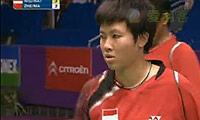 郑波/马晋VS诺瓦/纳西尔(第一局) 2010世锦赛 混双1/4决赛视频