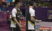 蔡赟/傅海峰VS陈文宏/古健杰 2010世锦赛 男双决赛视频