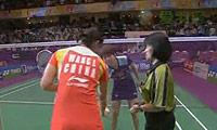 王琳VS汪鑫(第一局) 2010世锦赛 女单决赛视频