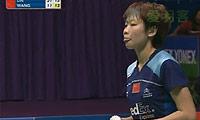 王琳VS汪鑫(第二局) 2010世锦赛 女单决赛视频
