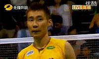 李宗伟VS盖德 2011印度公开赛 男单决赛视频