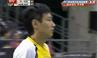 艾哈迈德/纳西尔VS张楠/赵芸蕾 2011新加坡公开赛 混双半决赛视频