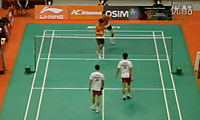阿尔文/古纳万VS柴飚/郭振东 2011新加坡公开赛 男双半决赛视频