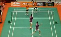 蔡赟/傅海峰VS洪炜/沈烨 2011新加坡公开赛 男双1/4决赛视频