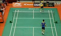 盖德VS杜鹏宇 2011新加坡公开赛 男单1/4决赛视频