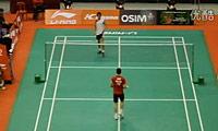 林丹VS西蒙 2011新加坡公开赛 男单1/4决赛视频
