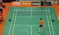内维尔VS卢兰 2011新加坡公开赛 女单1/16决赛视频