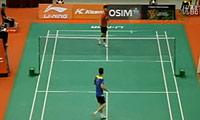 杜鹏宇VS波萨那 2011新加坡公开赛 男单1/16决赛视频
