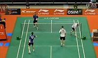 彼德森/拉斯姆森VS爱德考克/埃利斯 2011新加坡公开赛 男双1/16决赛视频