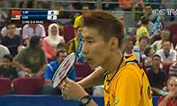 林丹VS李宗伟 2010汤姆斯杯 男单半决赛视频