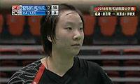 赵芸蕾/成淑VS河贞恩/李敬元 2010韩国公开赛 女双半决赛视频