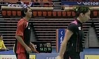 陶嘉明/张亚雯VS林培雷/程文欣 2010韩国公开赛 混双半决赛视频