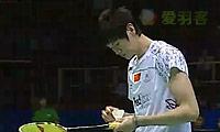 鲍春来VS谌龙 2011亚锦赛  男单半决赛视频