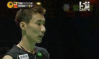 李宗伟VS谌龙 2011全英公开赛 男单半决赛视频