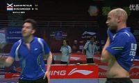 布莱尔/里特维德VS雷德/博世 2013苏迪曼杯 男双资格赛视频