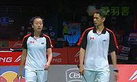 尼科/阿曼达VS吴骏义/高福颐 2013苏迪曼杯 混双资格赛视频
