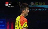 谌龙VS李东根 2013苏迪曼杯 男单决赛视频