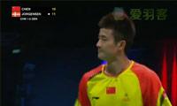 谌龙VS约根森 2013苏迪曼杯 男单半决赛视频