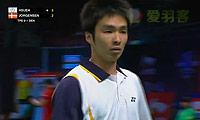 约根森VS薛轩亿 2013苏迪曼杯 男单1/4决赛视频