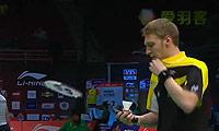李东根VS杜马克 2013苏迪曼杯 男单1/4决赛视频