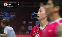 高成炫/金荷娜VS福克斯/迈克斯 2013苏迪曼杯 混双1/4决赛视频