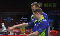 伊万诺夫/索松诺夫VS周菲利/庞拉尔莱特 2013苏迪曼杯 男双资格赛视频