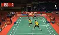徐晨/马晋VS安格莱尼/法蒂拉赫 2013印尼公开赛 混双1/16决赛视频
