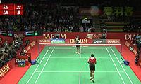 内维尔VS法内特里 2013印尼公开赛 女单1/16决赛视频