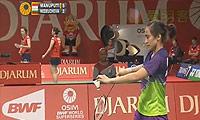 玛努布蒂VS内德尔奇娃 2013印尼公开赛 女单1/8决赛视频