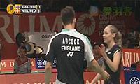 尼尔森/佩蒂森VS爱德考克/怀特 2013印尼公开赛 混双1/8决赛视频