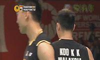 阿尔文/基多VS陈文宏/古健杰 2013印尼公开赛 男双1/8决赛视频