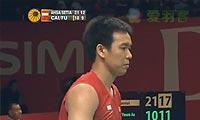 阿山/塞蒂亚万VS蔡赟/傅海峰 2013印尼公开赛 男双1/4决赛视频