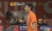 李宗伟VS波萨那 2013印尼公开赛 男单1/4决赛视频