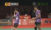 尼尔森/佩蒂森VS艾哈迈德/纳西尔 2013印尼公开赛 混双半决赛视频