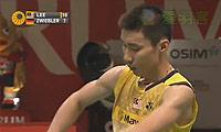 李宗伟VS茨维布勒 2013印尼公开赛 男单决赛视频
