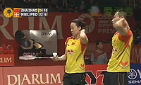 张楠/赵芸蕾VS尼尔森/佩蒂森 2013印尼公开赛 混双决赛视频