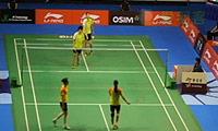 包宜鑫/成淑VS普缇塔/沙西丽 2013新加坡公开赛 混双1/8决赛视频