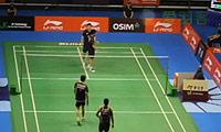 远藤大由/早川贤一VS阿尔文/基多 2013新加坡公开赛 男双1/8决赛视频