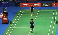 波萨那VS黄永棋 2013新加坡公开赛 男单1/8决赛视频