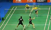 柳延星/严惠媛VS兰格瑞奇/奥利弗 2013新加坡公开赛 混双1/8决赛视频