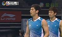 高成炫/李龙大VS玛尼蓬/尼迪蓬 2013新加坡公开赛 男双1/4决赛视频