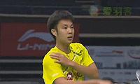 波萨那VS张维峰 2013新加坡公开赛 男单1/4决赛视频