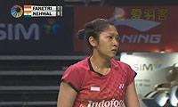 法内特里VS内维尔 2013新加坡公开赛 女单1/4决赛视频