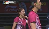 艾哈迈德/纳西尔VS柳延星/严惠媛 2013新加坡公开赛 混双决赛视频