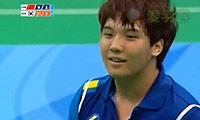 高成炫/李龙大VS李根/陈烙勋 2013大运会 团体男双决赛视频