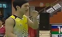 催率圭/蔡侑玎VS刘雨辰/黄东萍 2013亚青赛 混双决赛视频