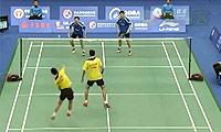 羽毛球男双最佳回合视频剪辑