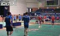 蒋伟/许峰VS朱杰/曾嵘 2013羽林争霸 西区决赛男双资格赛视频