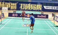 殷玉VS梁雨 2013羽林争霸 西区决赛男单半决赛视频